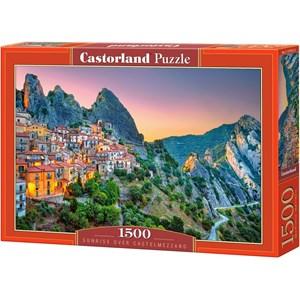 """Castorland (151912) - """"Sunrise over Castelmezzano"""" - 1500 pezzi"""