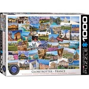 "Eurographics (6000-5466) - ""France"" - 1000 pezzi"
