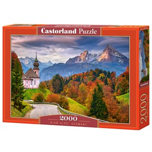 "Castorland (C-200795) - ""Rian Alps, Germany"" - 2000 pezzi"