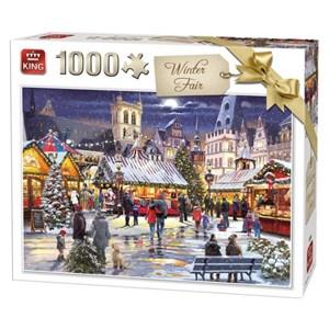 """King International (55946) - """"Winter Fair"""" - 1000 pezzi"""