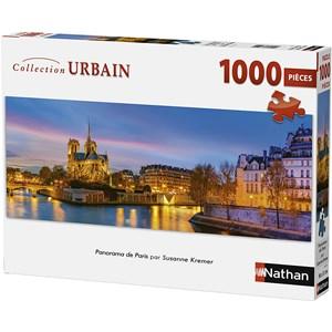 "Nathan (87577) - ""Paris, France"" - 1000 pezzi"