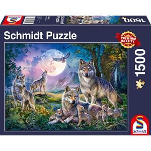 """Schmidt Spiele (58954) - """"Wolves"""" - 1500 pezzi"""
