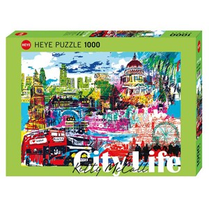"Heye (29682) - Kitty McCall: ""I Love London!"" - 1000 pezzi"