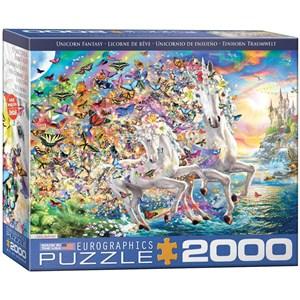 "Eurographics (8220-5551) - ""Unicorn Fantasy"" - 2000 pezzi"