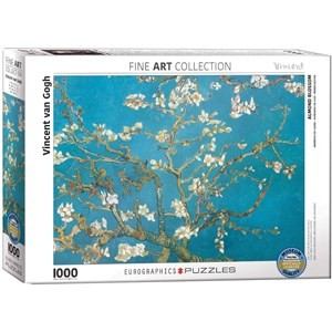 "Eurographics (6000-0153) - Vincent van Gogh: ""Almond Branches in Bloom"" - 1000 pezzi"