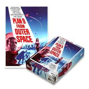 "Zee Puzzle (18530) - ""Plan 9 From Outer Space"" - 500 pezzi"