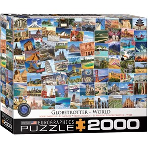 "Eurographics (8220-5480) - ""World Globetrotter"" - 2000 pezzi"
