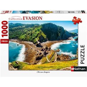 "Nathan (87631) - ""Dragons Island"" - 1000 pezzi"