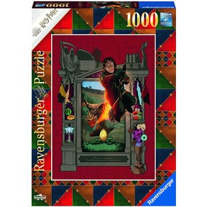 "Ravensburger (16518) - ""Harry Potter and the Trimagical Tournament"" - 1000 pezzi"