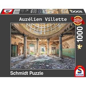 """Schmidt Spiele (59681) - Aurelien Villette: """"Sanatorium"""" - 1000 pezzi"""