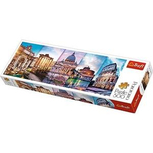 "Trefl (29505) - ""Collage, Rome"" - 500 pezzi"