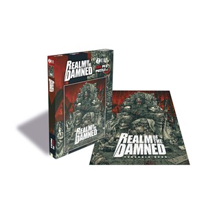 """Zee Puzzle (25785) - """"Realm of the Damned, Balaur"""" - 500 pezzi"""