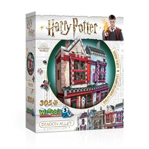"Wrebbit (0509) - ""Harry Potter, Quality Quidditch Supplies and Slug & Jiggers"" - 305 pezzi"