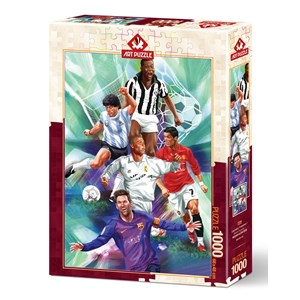 "Art Puzzle (5194) - ""Legendary Footballers"" - 1000 pezzi"