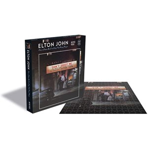 """Zee Puzzle (25151) - """"Elton John, Dont Shoot me I'm Only the Piano Player"""" - 500 pezzi"""