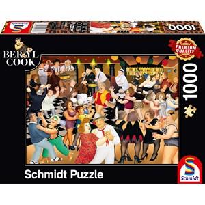 "Schmidt Spiele (59686) - Beryl Cook: ""Party Night"" - 1000 pezzi"