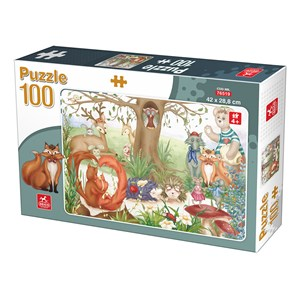 "Deico (76519) - ""Forest Animals"" - 100 pezzi"