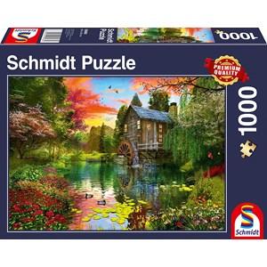 "Schmidt Spiele (58968) - ""The Water Mill"" - 1000 pezzi"