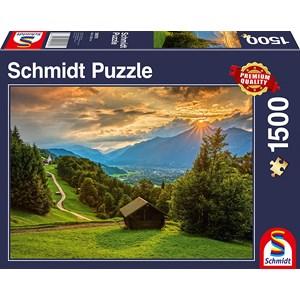 "Schmidt Spiele (58970) - ""Sunset on Wamberg"" - 1500 pezzi"