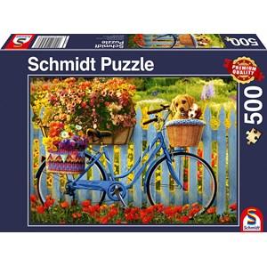 "Schmidt Spiele (58957) - ""Sunday Excursion with Good Friends"" - 500 pezzi"