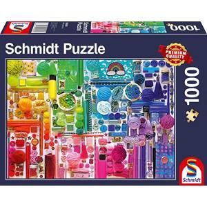 """Schmidt Spiele (58958) - """"Rainbow Colours"""" - 1000 pezzi"""