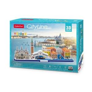 """Cubic Fun (mc269h) - """"Cityline Venice"""" - 126 pezzi"""