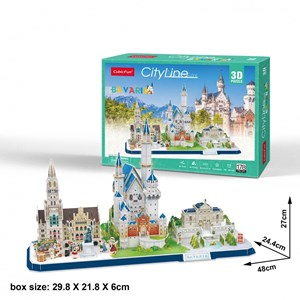 "Cubic Fun (mc267h) - ""Cityline, Bavaria"" - 178 pezzi"