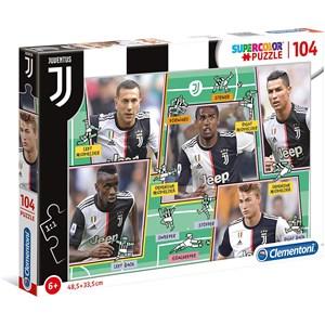 "Clementoni (27131) - ""Puzzle Juventus"" - 104 pezzi"