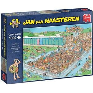 "Jumbo (20039) - Jan van Haasteren: ""Pool Pile-Up"" - 1000 pezzi"