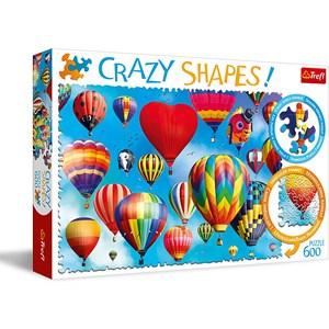 "Trefl (11112) - ""Colorful Balloons"" - 600 pezzi"