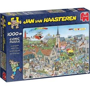 "Jumbo (20036) - Jan van Haasteren: ""Island Retreat"" - 1000 pezzi"