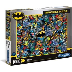 """Clementoni (39575) - """"Batman"""" - 1000 pezzi"""