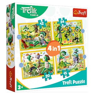 "Trefl (34358) - ""Treflik's common fun"" - 12 15 20 24 pezzi"