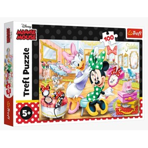 "Trefl (16387) - ""Minnie in Beauty"" - 100 pezzi"