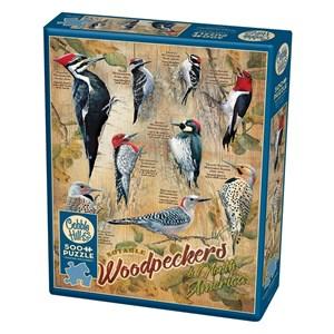 """Cobble Hill (85007) - Susan Bourdet: """"Notable Woodpeckers"""" - 500 pezzi"""