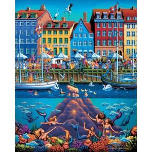 """Dowdle Folk Art (00366) - """"Copenhagen"""" - 500 pezzi"""