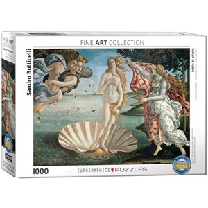 "Eurographics (6000-5001) - Sandro Botticelli: ""Birth of Venus"" - 1000 pezzi"