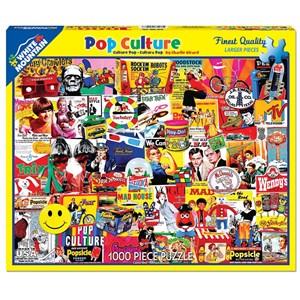 "White Mountain (1148PZ) - Charlie Girard: ""Pop Culture"" - 1000 pezzi"