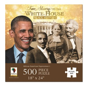 """African American Expressions (PUZ-11) - """"From Slavery to the White House"""" - 500 pezzi"""