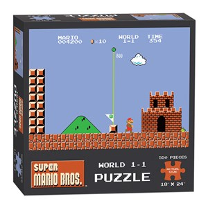 "USAopoly (PZ005-488) - ""Super Mario Bros. World 1-1"" - 550 pezzi"