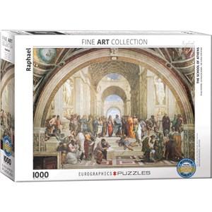 "Eurographics (6000-4141) - Raphael: ""School of Athens"" - 1000 pezzi"