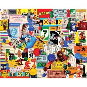 """White Mountain (1174PZ) - Charlie Girard: """"Game Pieces"""" - 1000 pezzi"""