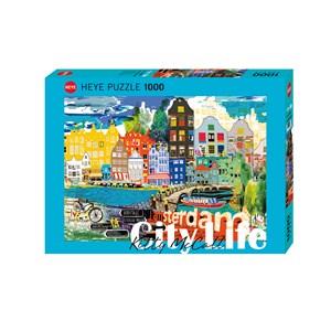 """Heye (29683) - Kitty McCall: """"I Love Amsterdam!"""" - 1000 pezzi"""