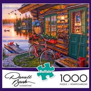 "Buffalo Games (11230) - Darrell Bush: ""Summertime"" - 1000 pezzi"