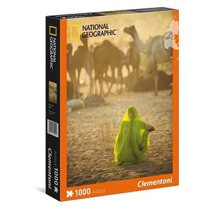 "Clementoni (39302) - ""Indian Woman"" - 1000 pezzi"